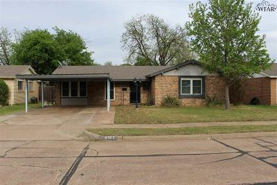 Wichita Falls Single Family Home For Sale: 5127 Parklane Drive