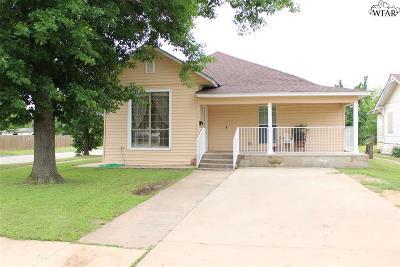 Wichita Falls Single Family Home For Sale: 1629 Lucile Avenue