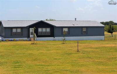 Burkburnett TX Single Family Home For Sale: $104,000
