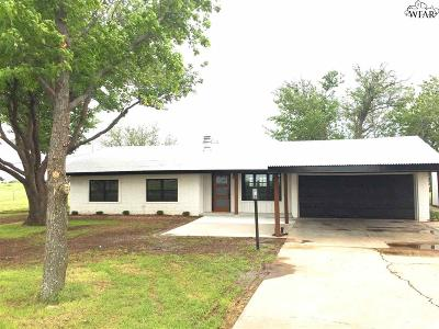 Wichita Falls Single Family Home For Sale: 5325 Friberg Church Road