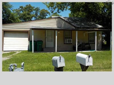 Burkburnett TX Single Family Home Active W/Option Contract: $34,900