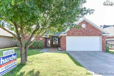 Wichita Falls Single Family Home For Sale: 4829 Olympic Drive
