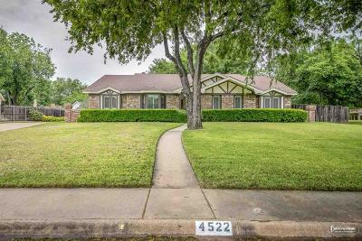 Wichita Falls Single Family Home For Sale: 4522 Shady Lane