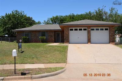 Archer County, Baylor County, Clay County, Jack County, Throckmorton County, Wichita County, Wise County Single Family Home For Sale: 9 Lackland Circle