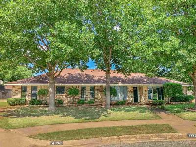 Wichita Falls Single Family Home Active W/Option Contract: 4336 S Leighton Circle