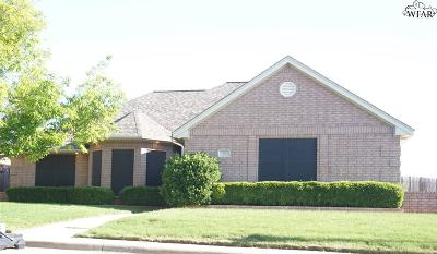 Iowa Park Single Family Home For Sale: 20 Cherokee Trail