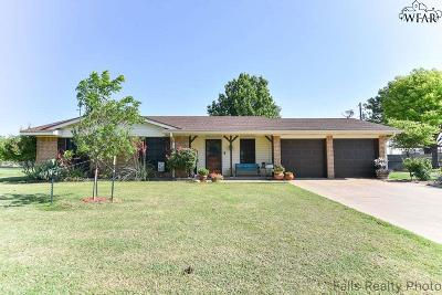 Wichita Falls Single Family Home Active W/Option Contract: 4628 Mourning Dove Lane