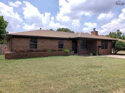 Wichita Falls Single Family Home For Sale: 4676 University Avenue