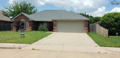 Iowa Park Single Family Home For Sale: 24 Cherokee Trail
