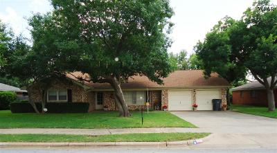 Wichita Falls Single Family Home For Sale: 4207 Kingsbury Drive
