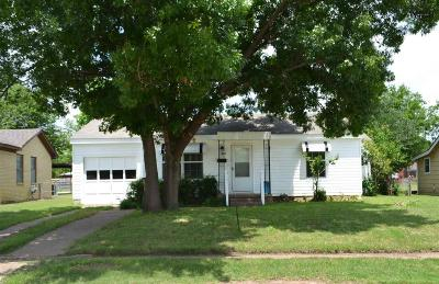 Wichita Falls Single Family Home For Sale: 3022 Thomas Avenue