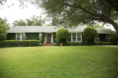 Wichita Falls TX Single Family Home For Sale: $188,000