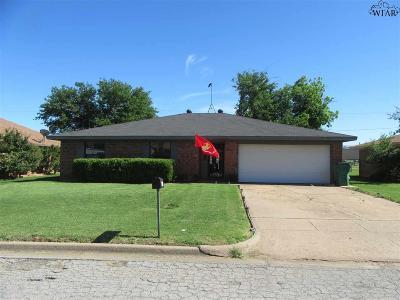 Iowa Park Single Family Home Active W/Option Contract: 1019 Foley Avenue