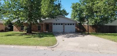 Burkburnett Single Family Home For Sale: 1020 Sheridan Road