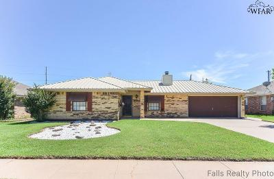 Wichita Falls TX Single Family Home Active W/Option Contract: $98,000