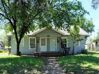 Wichita Falls Multi Family Home Active W/Option Contract: 1907 Keeler Avenue
