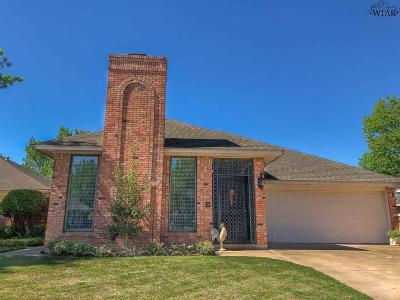 Wichita Falls Single Family Home For Sale: 2407 N Elmwood Circle