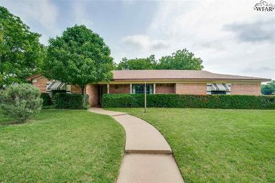 Wichita Falls Single Family Home Active W/Option Contract: 2503 N Leighton Circle