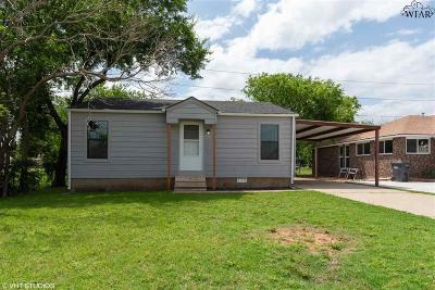 Wichita Falls Single Family Home For Sale: 2912 Pennsylvania Road