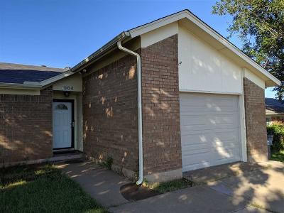 Wichita County Rental For Rent: 1904 Central Freeway
