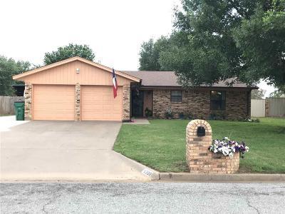 Burkburnett Single Family Home Active W/Option Contract: 1308 Amherst Street