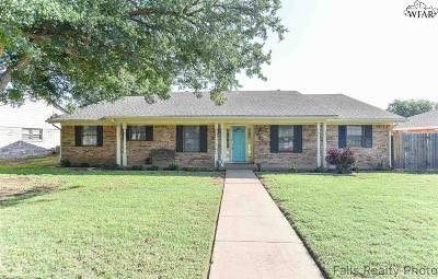 Wichita Falls Single Family Home For Sale: 4804 Eldorado Drive
