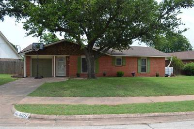 Wichita Falls Single Family Home For Sale: 5207 Allegheny Drive