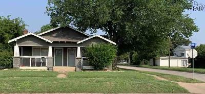 Wichita Falls Multi Family Home Active W/Option Contract: 1400 Kemp Boulevard