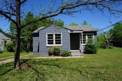 Wichita County Rental For Rent: 1640 Osage Avenue