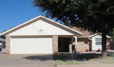 Wichita Falls Single Family Home Active W/Option Contract: 3 Archway Court