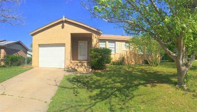 Wichita County Rental For Rent: 2805 Southridge Drive