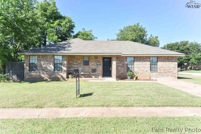 Wichita Falls Single Family Home For Sale: 5237 Kingston Drive