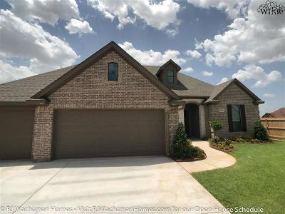Wichita County Rental For Rent: 4922 Lantana Drive