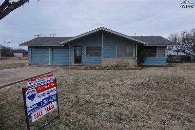 Wichita County Rental For Rent: 400 West Avenue