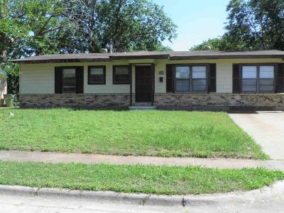 Wichita County Single Family Home For Sale: 1207 Harvey Drive
