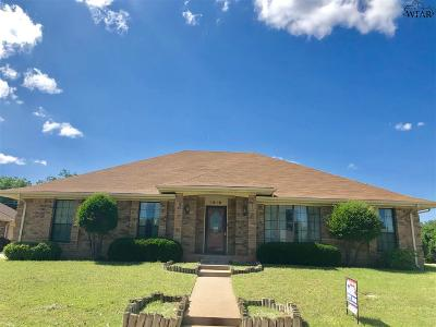 Wichita Falls Single Family Home For Sale: 2616 Shepherds Glen