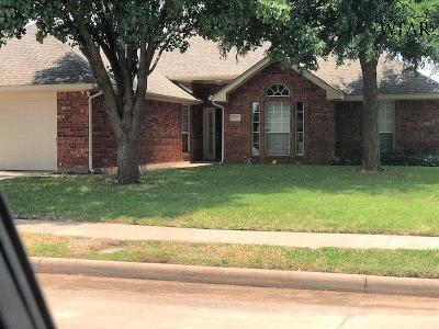 Wichita County Single Family Home Active W/Option Contract: 3017 Whitehall Lane