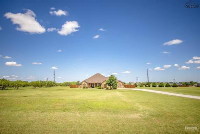 Wichita Falls Single Family Home Active-Contingency: 4500 State Highway 79 South