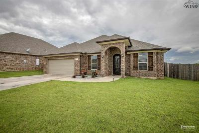 Wichita Falls Single Family Home For Sale: 10 Freedom Circle