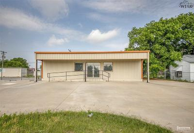 Wichita Falls TX Commercial For Sale: $149,900