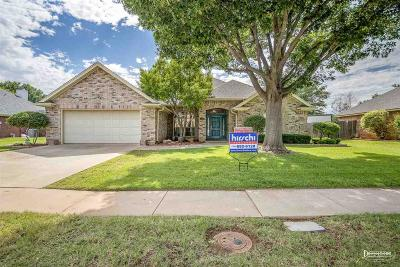 Wichita Falls Single Family Home Active W/Option Contract: 4536 Wendover Street