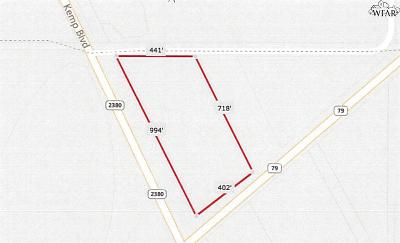 Wichita Falls Residential Lots & Land For Sale: 8 Acres S Hwy 79
