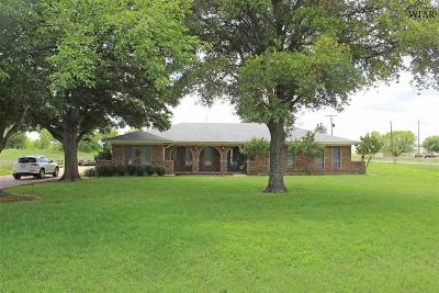 Wichita Falls Single Family Home For Sale: 15023 Fm 1954