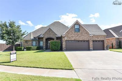 Wichita Falls Single Family Home For Sale: 5619 Ross Creek Lane