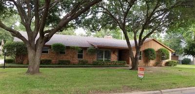 Wichita Falls Single Family Home For Sale: 4409 Nassau Drive