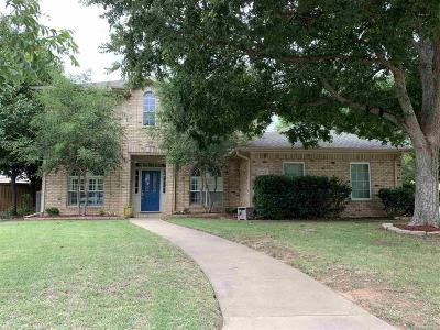 Wichita Falls TX Single Family Home Active W/Option Contract: $215,000