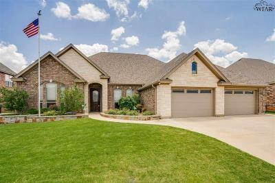 Wichita County Single Family Home For Sale: 5313 Waterford Drive