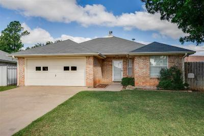 Wichita Falls Single Family Home Active W/Option Contract: 3 Shelly Circle