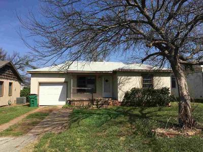 Wichita County Rental For Rent: 602 W Washington Avenue
