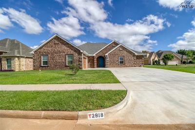 Wichita Falls Single Family Home For Sale: 2918 S Shepherds Glen